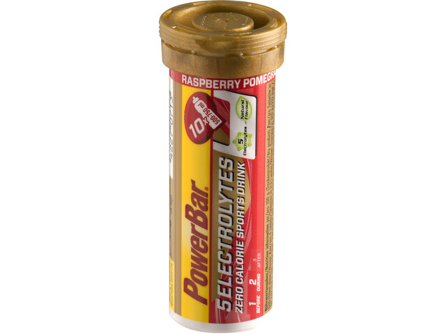 PowerBar 14 Electrolytes Zero Calorie Sports Drink Tabs 10 Pieces Rasperry-Pomgranate